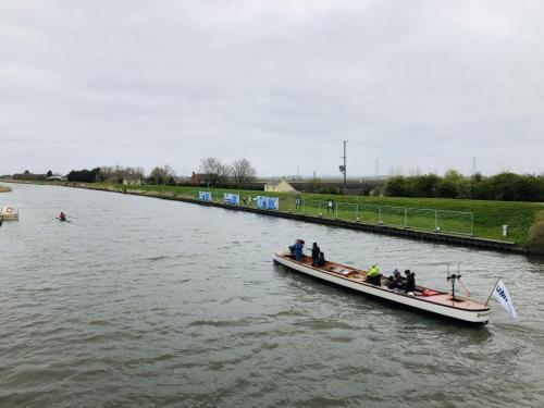 Boatrace-umpire2 Tali Iserles