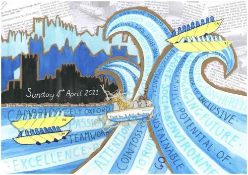boat-race-collage Danielle Edmunds